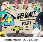 insurance policy help legal... | Shutterstock . vector #272123804