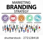 brand branding marketing... | Shutterstock . vector #272128418