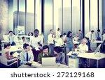 business people office working...   Shutterstock . vector #272129168
