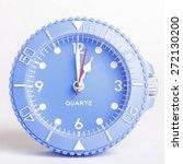 clock at 1 o'clock | Shutterstock . vector #272130200