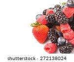 strawberry  blackberry ... | Shutterstock . vector #272138024