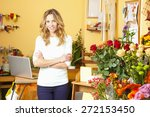 small business. portrait of... | Shutterstock . vector #272153450