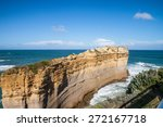 the clift with the blue sky | Shutterstock . vector #272167718