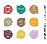 modern badges collection | Shutterstock .eps vector #272178284