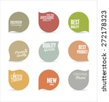 modern badges collection | Shutterstock .eps vector #272178323