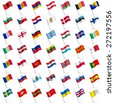 waving flags of the world  part ... | Shutterstock .eps vector #272197556