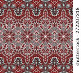 Vector Ethnic Abstract Seamles...