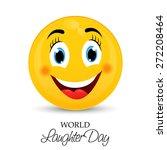 vector illustration of a happy...   Shutterstock .eps vector #272208464