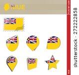 Niue Flag Set  Flag Set  226....