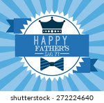 fathers day design  vector... | Shutterstock .eps vector #272224640