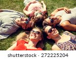 friendship  leisure  summer and ... | Shutterstock . vector #272225204