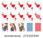 Playing Cards   Hearts Set