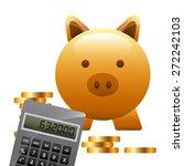 money concept design  vector... | Shutterstock .eps vector #272242103