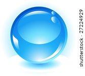 blue sphere | Shutterstock . vector #27224929