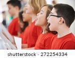 Group Of School Children...