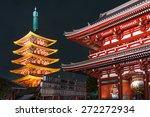 asakusa senso ji temple in... | Shutterstock . vector #272272934