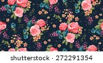 classic wallpaper seamless... | Shutterstock .eps vector #272291354