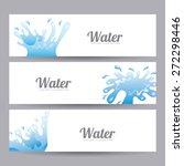 water icon design  vector... | Shutterstock .eps vector #272298446