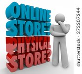 Online Vs Physical Store Words...