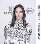 Small photo of New York, NY, USA - April 23, 2015: Actress Jennifer Connelly attends 2015 New York Tribeca Film Festival Premiere Narrative Aloft at BMCC Tribeca PAC, Manhattan