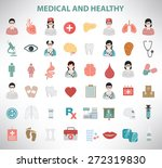medical icons  clean vector | Shutterstock .eps vector #272319830