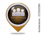 customer service pointer icon... | Shutterstock . vector #272332583