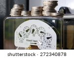 electrical meter with money.a...