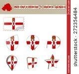 Northern Ireland Flag Set  Fla...