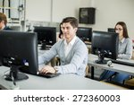 students in the classroom | Shutterstock . vector #272360003