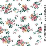 vintage vector print   Shutterstock .eps vector #272368256