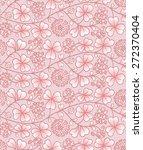 summer seamless natural pattern ... | Shutterstock .eps vector #272370404