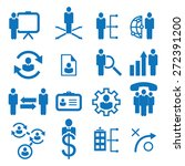business icons | Shutterstock .eps vector #272391200