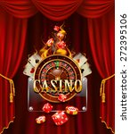 Casino Background With Cards ...