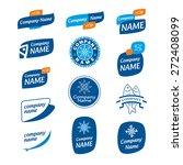 logo frozen seafood | Shutterstock .eps vector #272408099
