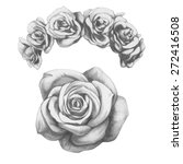 Original Drawing Of Roses....