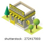 vector isometric icon... | Shutterstock .eps vector #272417003