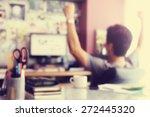 blurred background   workingman ... | Shutterstock . vector #272445320