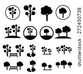 Park Icon Set | Shutterstock vector #272450738