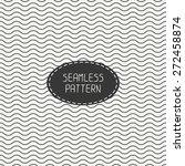 geometric monochrome seamless... | Shutterstock .eps vector #272458874