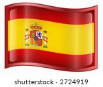 spain flag icon | Shutterstock .eps vector #2724919