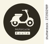 transportation design over... | Shutterstock .eps vector #272502989