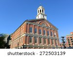 Faneuil Hall On Freedom Trail ...