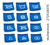 clothing labels  laundry | Shutterstock .eps vector #272518370
