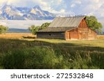 Rustic Barn In The Tetons ...