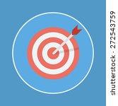 target icon | Shutterstock .eps vector #272543759