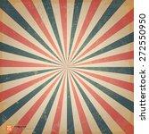new vector vintage red rising...   Shutterstock .eps vector #272550950