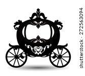 vector illustration of brougham ...   Shutterstock .eps vector #272563094