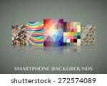 smartphone wallpapers  set of ...