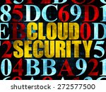 protection concept  pixelated... | Shutterstock . vector #272577500