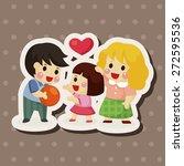 family theme elements   Shutterstock .eps vector #272595536